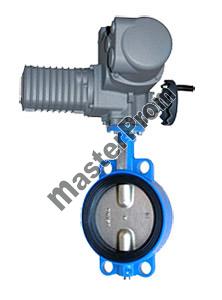 Затвор дисковый поворотный с чугунным диском с уплотнением EPDM, пр-ва Китай